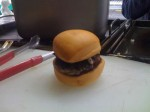 Experimenting with miniburgers