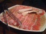 Mmm... thin meat...