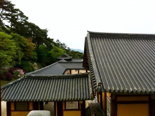 A view from inside Bulkuksa Temple in Gyeongju