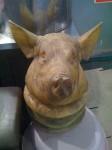 Hi, I'd like a hollowed out pig's head please